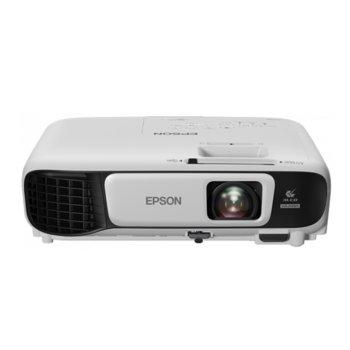 Проектор Epson EB-U42, 3LCD, WUXGA (1920 x 1200), 15,000:1, 3600 lm, HDMI, USB Type A, USB Type B, VGA, Wi-Fi image