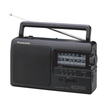 Радио Panasonic RF-3500E9-К, портативно, FM,AM, LW, SW, черно image