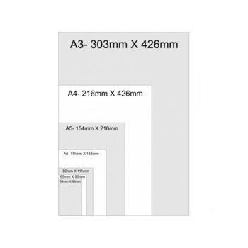 Фолио за ламиниране, размер A5, 154x216 mm, 125 mic, 100бр. image