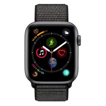 Apple Watch S4 44mm Black Sport Loop