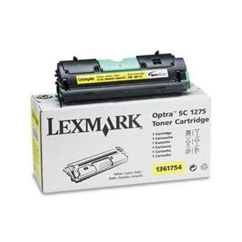КАСЕТА ЗА LEXMARK OPTRA SC 1275 - Yellow - P№ 1361754 - заб.: 3500k image