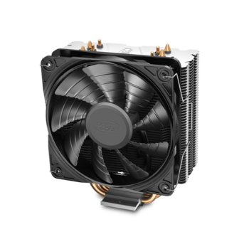 Охлаждане за процесор DeepCool GAMMAXX 400S Silent Version, съвместимост със сокети Intel LGA1200/1151/1150/1155/1366 & AMD AM4/AM3+/AM3/AM2+/AM2/FM2+/FM2/FM1 image