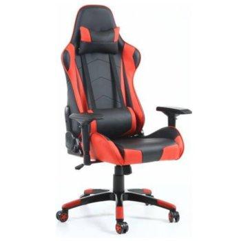 Геймърски стол INAZA Victus, черен/червен image