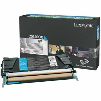 КАСЕТА ЗА LEXMARK C534 - Cyan - P№ C5340CX - заб.: product