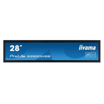 "Дисплей Iiyama T1532MSC-B5AG, 28"" (71.12 cm), Full HD, HDMI, DVI-D, VGA, RS232 image"