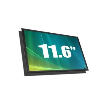 """Матрица за лаптоп Chi Mei N116B6-L04, 11.6"""" (25.65 cm) WXGAP+ 1366:768 pix., гланцирана image"""