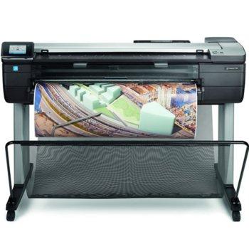 "Плотер HP DesignJet T830 MFP 36""(91.44cm), 2400 x 1200 dpi, 28 sec/page image"