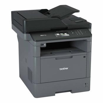 Мултифункционално лазерно устройство Brother MFC-L5700DN, мохохромен принтер/копир/скенер/факс, 1200x1200 dpi, 40стр/мин, LAN100 Base-TX, USB, ADF, двустранен печат, A4 image