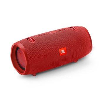 Тонколона JBL Xtreme 2, 2.0, 40W RMS, безжична, 3.5mm jack/Bluetooth, червена, IPX7, до 15 часа работа image