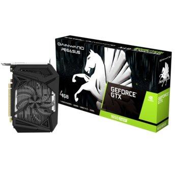 Видео карта nVidia GeForce GTX 1650 SUPER, 4GB, Gainward GeForce GTX 1650 SUPER Pegasus, PCI-E 3.0, GDDR6, 192bit, DisplayPort, HDMI, DVI image