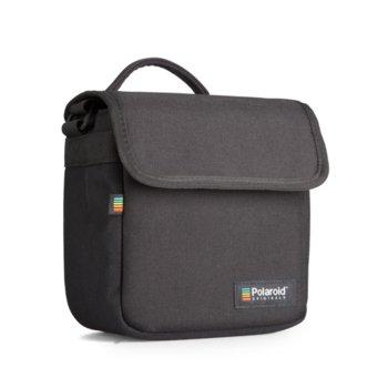Чанта за фотоапарат Polaroid Box Camera Bag Black, за Polaroid фотоапарати, черена image