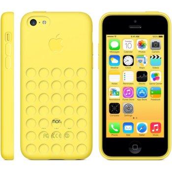 Силиконов протектор за Apple iPhone Case 5C, жълт product