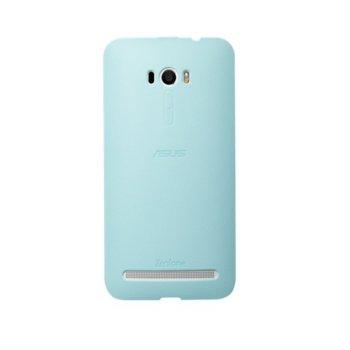 Калъф за Asus ZenFone Selfie, страничен протектор с гръб, поликарбонатов, Asus Bumper ZD551KL, син image