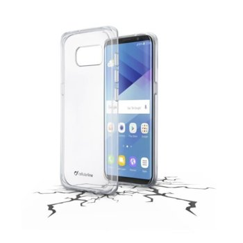 Cellular Line Clear Duo - Galaxy S8 CLEARDUOGALS8T product