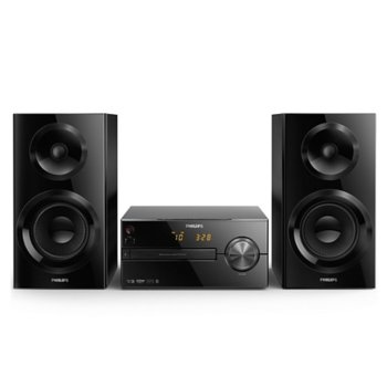 Мини Аудио Система Philips BTM2560, 2.0, RMS 70W, Bluetooth, 3.5mm jack, USB, черна image