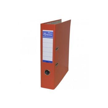 Класьор Rexon, за документи с формат до A4, дебелина 8см, оранжев image