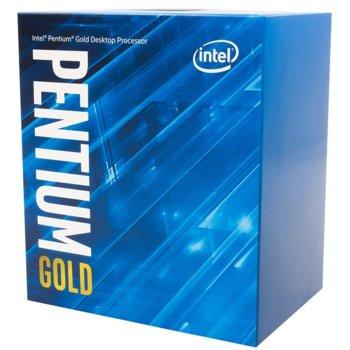 Процесор Intel Pentium Gold G5400 двуядрен (3.7GHz, 4MB Cache, 350MHz-1.05GHz GPU, LGA1151) BOX, с охлаждане image