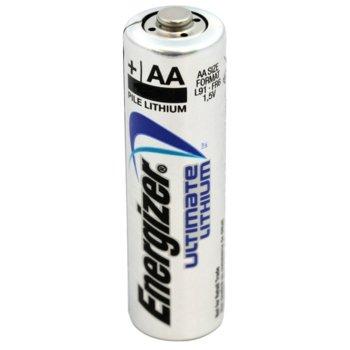 Батерия литиева Energizer Ultimate Lithium, AA, L91, 1.5V, 1бр. image