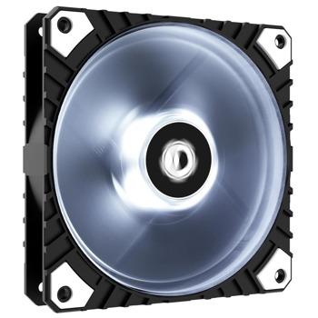 Вентилатор 120mm, ID-Cooling WF-12025 XT (WF-12025-XT-W), 4-pin, 2200 rpm, бяла подсветка image