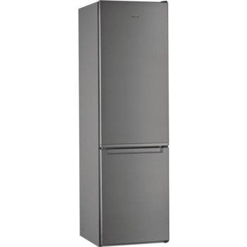Хладилник с фризер Whirlpool W5 921E OX, клас А++, 371 л. общ обем, свободностоящ, 253 kWh/годишно, 6TH Sense технология, инокс image