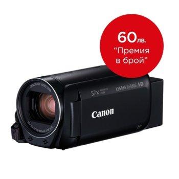 """Видеокамера Canon LEGRIA HF R806, Full HD, 3.0"""" (7.62 cm) LCD сензорен дисплей, 32x оптично увеличение, SDXC/SDHC слот, USB mini (TypeB), mini HDMI, Wi-Fi, NFC, черна image"""
