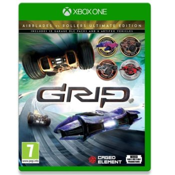 Игра за конзола GRIP: Combat Racing - Airblades vs Rollers - Ultimate Edition, за Xbox One image