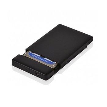 """Кутия 2.5""""(6.35 cm) Digital One SP00063, за HDD диск 2.5"""", USB 3.0, SATA, синя image"""