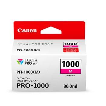 ГЛАВА ЗА Canon imagePROGRAF PRO-1000 - Magenta - 0548C001AA P№ PFI-1000 - 80ml image