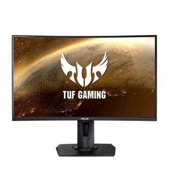 "Монитор Asus TUF Gaming VG27VQ, 27.0""(68.6cm) VA панел, 165Hz, Full HD, 1ms, 400 cd/m2, DisplayPort, HDMI, DVI-D image"