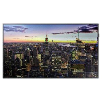"Публичен дисплей Samsung LH75QMFPLGC, 75"" (190.5 cm) 4K UHD E-LED BLU, Display Port, HDMI, DVI image"