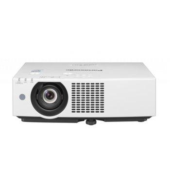 Проектор Panasonic PT-VMW60EJ, 3LCD, WXGA (1280x800), 3 000 000:1, 6000 lm, 2x HDMI, 2x VGA, USB, LAN image