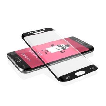 Протектор от закалено стъкло /Tempered Glass/ за Samsung Galaxy S7 Edge G935 FullFace, Черен  image