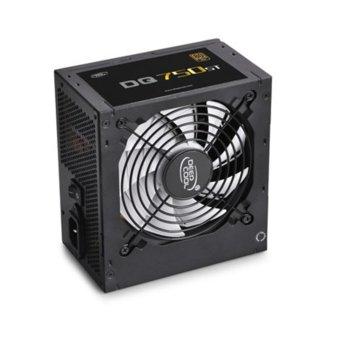 Захранване DeepCool DQ750ST, 750W, Active PFC, 80 Plus Gold, 120mm silent вентилатор image