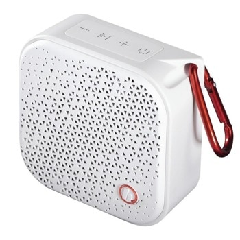 Тонколона HAMA Pocket, 2.0, 3.5W, AUX, Bluetooth, Micro USB, бяла, водоустойчива image