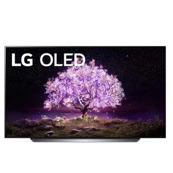 """Телевизор LG OLED55C11LB, 55"""" (139.7 cm) OLED 4K/UHD Smart TV, HDR, DVB-T2/C/S2, LAN, Wi-Fi, Bluetooth, 4x HDMI, 3x USB image"""