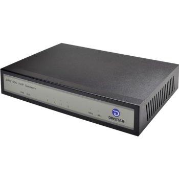 Dinstar DAG 1000-4S4O, VoIP Централа/Gateway, 4x аналогов вход/изход image