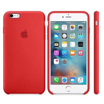 6s Plus Silicone Case - (PRODUCT)RED product
