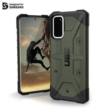 Калъф за Samsung Galaxy S20, хибриден, Urban Armor Pathfinder 211977117272, удароустойчив, зелен image