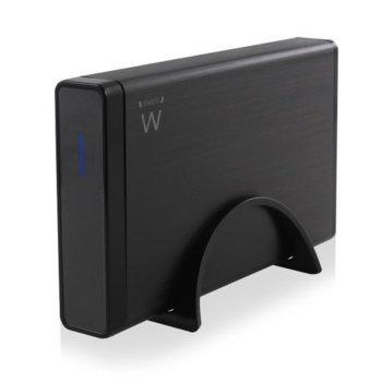 """Кутия 3.5"""" (8.89 cm) Ewent EW7047, за 3.5"""" (8.89 cm) HDD/SSD, USB 2.0, SATA/PATA, черна image"""