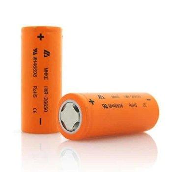 Акумулаторна батерия MNKE IMR26650, 26650, 3.7V, 3500mAh, Li-Ion, 1 брой image