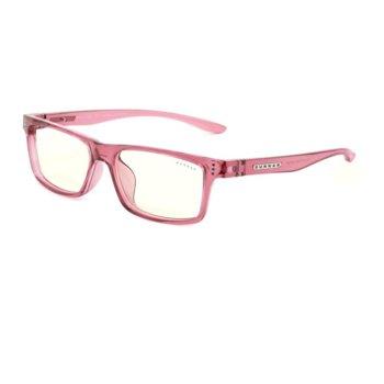 Детски компютърни очила Gunnar Cruz Kids Large, Clear Natural, за деца от 8 до 12 години, 35% филтър на синя светлина, розови image