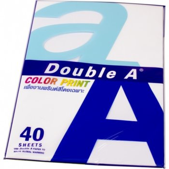 Double A Color Print A4 90 g/m2 40 листа син product
