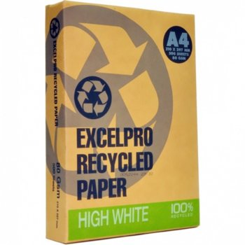 Excel Recycled Pro A4, 80 g/m2, 500 листа, бяла product