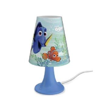 LED настолна лампа Philips Disney Finding Dory, ключ за вкл./изкл. върху кабела, 2,3 W крушка, 220 lm, 220V image