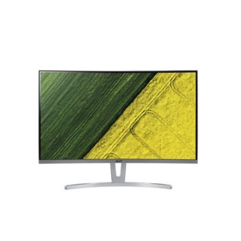 "Монитор Acer ED273Awidpx (UM.HE3EE.A01), 27.0""(68.6cm) VA панел, Full HD, 4ms, 100 000 000:1, Display Port, HDMI, DVI image"