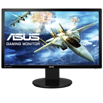 "Монитор Asus VG248QZ, 24"" (60.96cm) TN панел, 144Hz, Full HD, 1ms, 80 000 000:1, 350 cd/m2, HDMI, DisplayPort, DVI-D image"