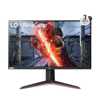 """Монитор LG 27GN850-B, 27"""" (68.58 cm) IPS панел, 144Hz, QHD, 1ms, 350 cd/m2, DisplayPort, HDMI image"""
