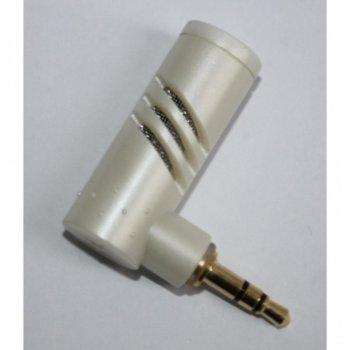 Микрофон Digital One SP00090, 3.5 mm жак, малък-преносим, бял image