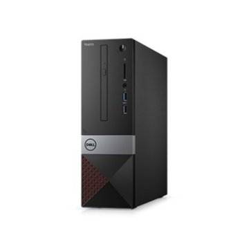Настолен компютър Dell Vostro 3470 (N207VD3470EMEA01_R2005_UBU), шестядрен Coffee Lake Intel Core i5-9400 2.9/4.1 GHz, 8GB DDR4, 256GB SSD, 2x USB 3.1 Gen 1, клавиатура и мишка, Linux  image