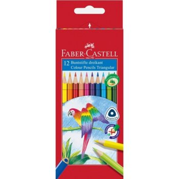 Цветен молив Faber-Castell Triangular 12 цвята product